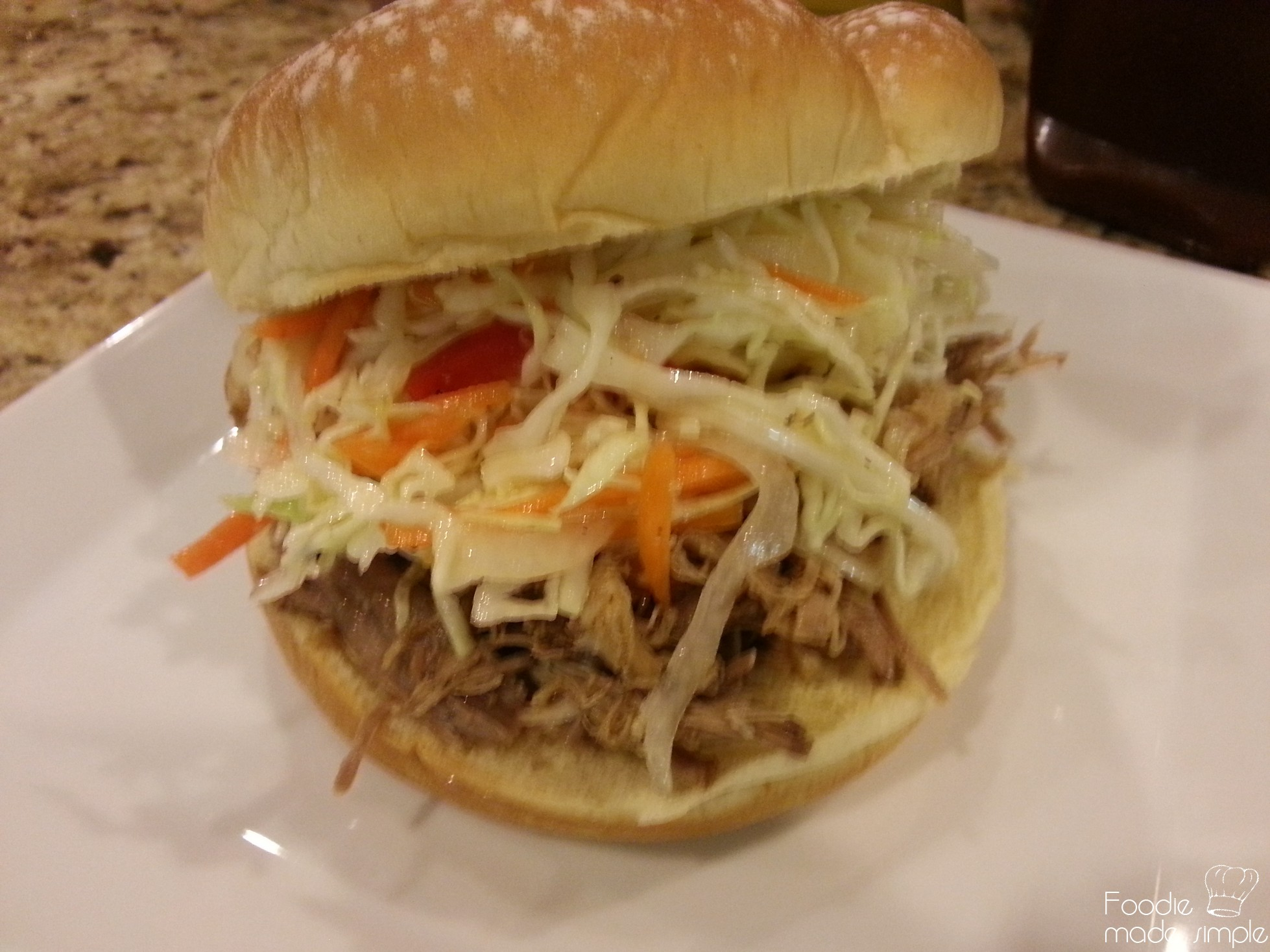 Slow-Cooker Carolina-Style Pulled Pork -