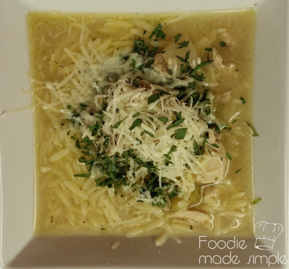 Chicken Soup With Tarragon Chicken Soup With Orzo