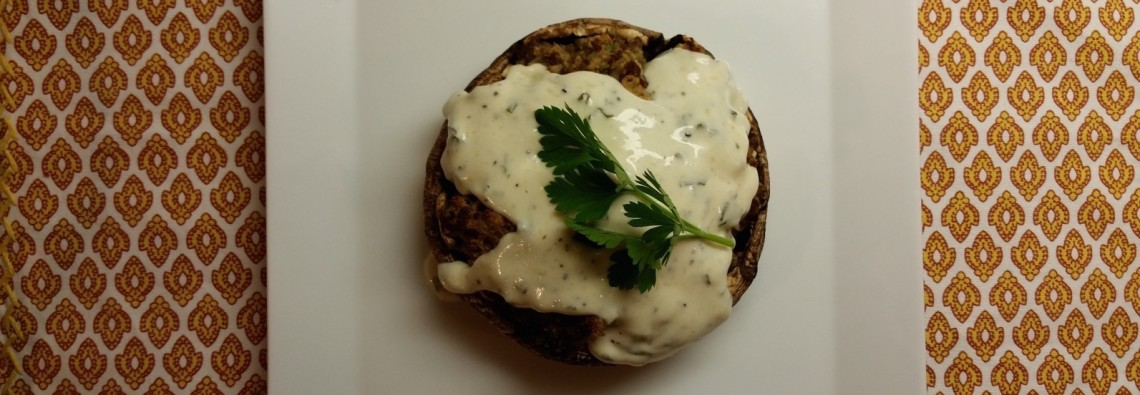 Italian Sausage Stuffed Portobello Mushrooms 12