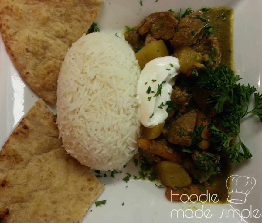 Slow Cooker Indonesian Style Beef Curry Rendang Padang