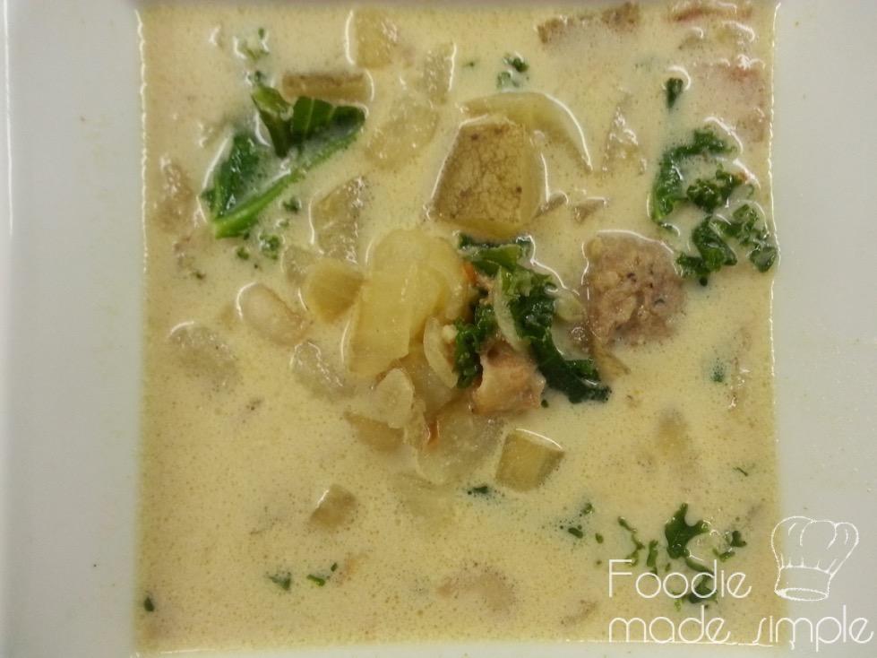 Tuscan Style Sausage Kale And Potato Soup Zuppa Toscana