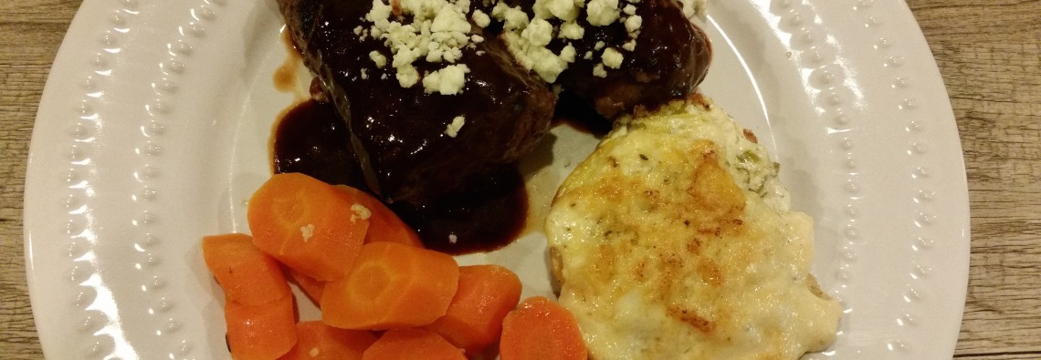Seared Elk Medallions with Blackberry Balsamic Sauce Feature