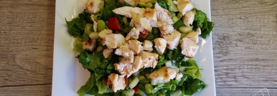 21 Day Fix Chopped Asian Chicken Salad  Feature