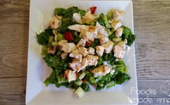 Chopped Asian Chicken Salad