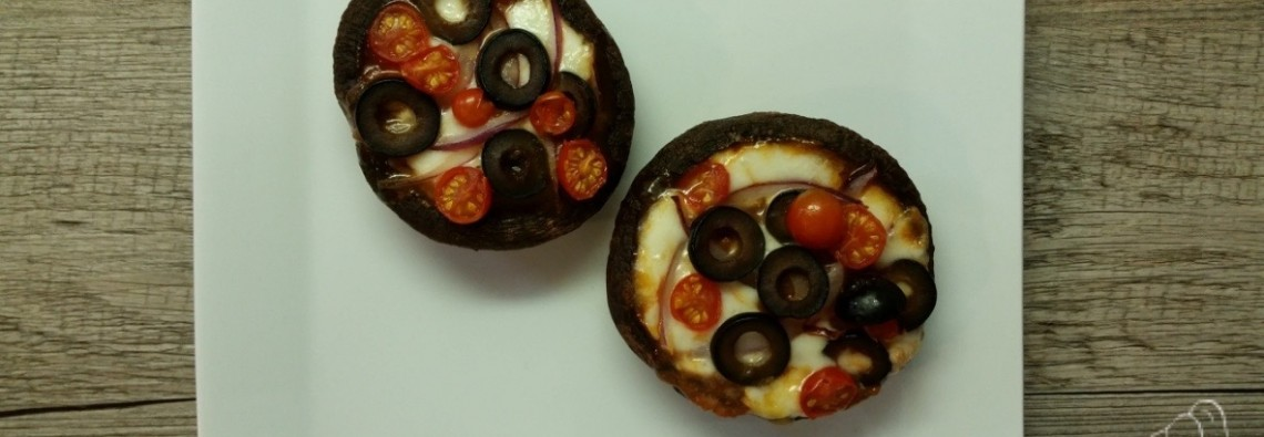 21 Day Fix Portobello Mushroom Cap Pizza Feature