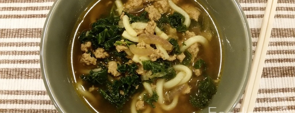 Spicy Pork and Kale Soup Feature