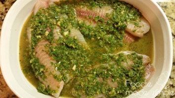 Cilantro and Ginger Tilapia