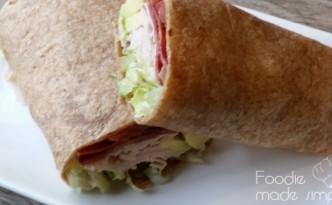 21 Day Fix California Turkey Club Wraps 21 Day Fix Recipe