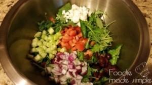 21 Day Fix Greek Baby Kale Salad