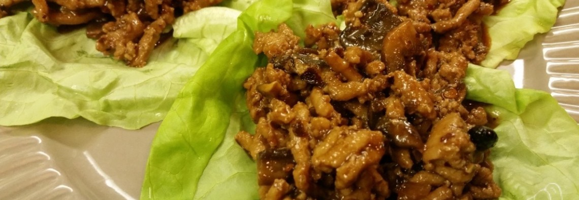 Asian-Style Turkey Lettuce Wraps