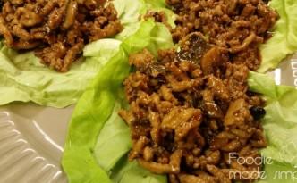 Asian-Style Turkey Lettuce Wraps