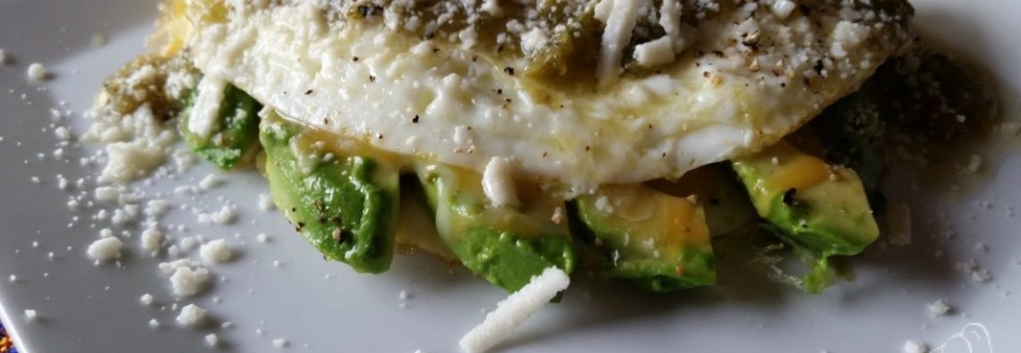 Avocado and Egg White Omelet