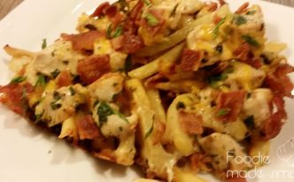 Chicken Bacon Fries