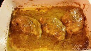 Curried Maple-Mustard Chicken