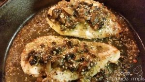 Portobello Mushroom Chicken a la Romano's Macaroni Grill