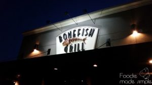 Restaurant Review Bonefish Grill