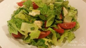 Romaine Caprese Salad with Basil Vinaigrette