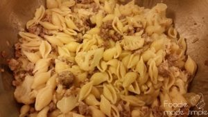 Cauliflower Spicy Sausage and Pasta