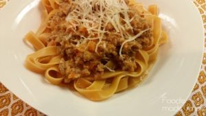 Spicy Italian Sausage Bolognese Sauce