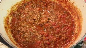Spicy Italian Sausage Ragu