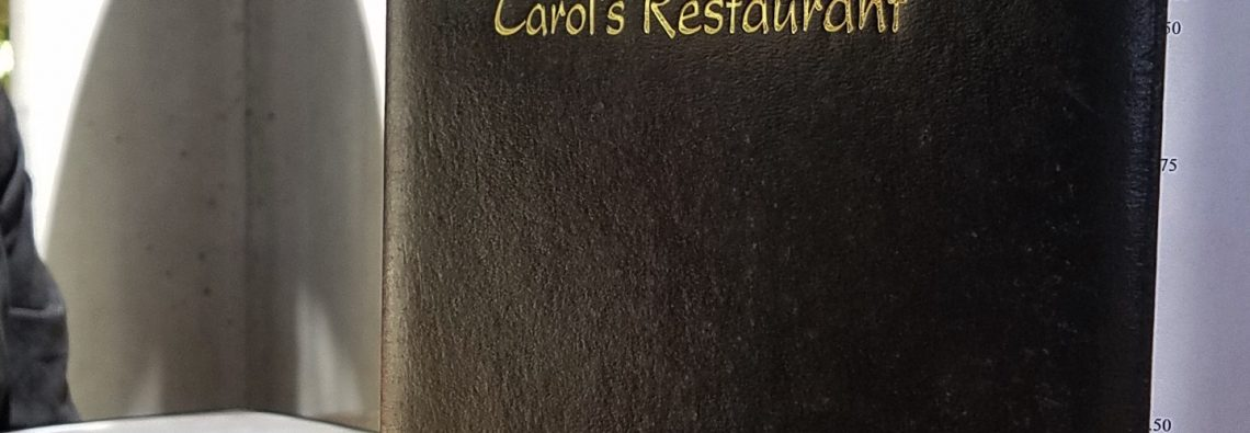 Restaurant Review Carol's Restaurant at Baily Winery (Temecula, CA)