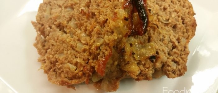 Tomato Sauced Meat Loaf