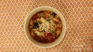 Spicy Turkey Sausage Vegetable Soup